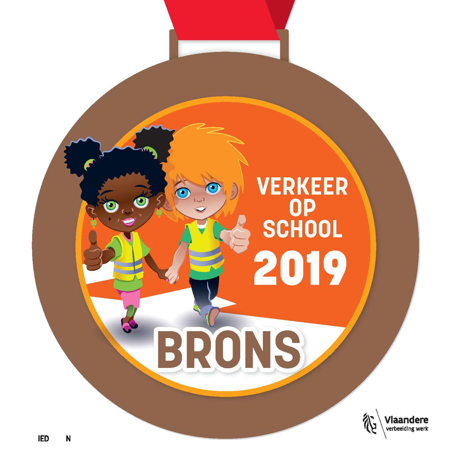Verkeer op school - 2019 - brons